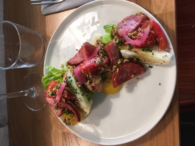ATELIER DES FAURES Salade de Morteau, Chankliche